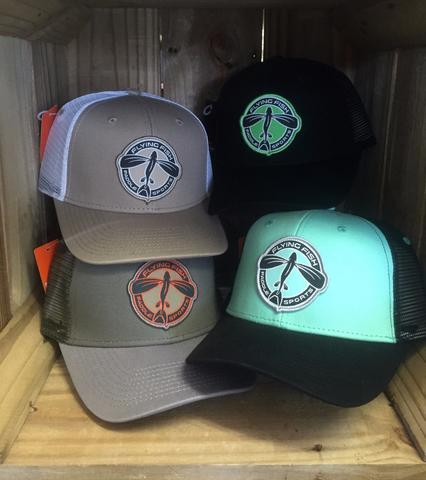 Flying Fish Circle Logo Mesh Trucker Hat